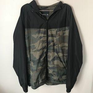 O'Neill Lightweight Camo Hoodie Jacket | Size L